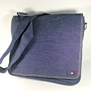 Retro 90s Tommy Hilfiger Jean Messenger Bag
